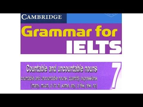 Cambridge Grammar for IELTS Unit 7