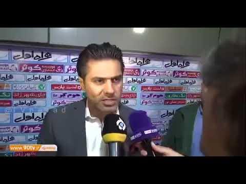 عصبانیت پیروانی از محسن مسلمان من ممنوع البازیم نه ممنوع المصاحبه!