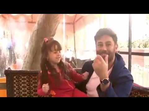 دلبری دختر ۵ ساله از محمد رضا گلزار