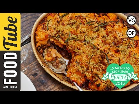آشپزی مدرن-تهیه پای چوپان- گیاهی و سالم