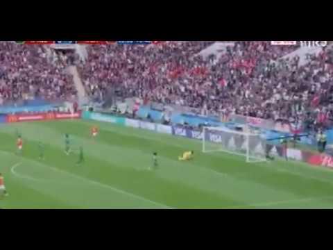 گل چهارم روسیه به عربستان (چریشف) - جام جهانی 2018 روسیه | Navad