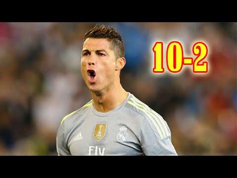 10 Biggest Wins of La Liga (Primera Division) Season 2015-2016 HD
