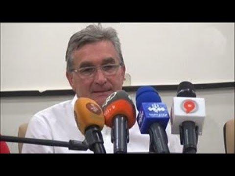 کنفرانس خبری پس از بازی استقلال خوزستان   پرسپولیس