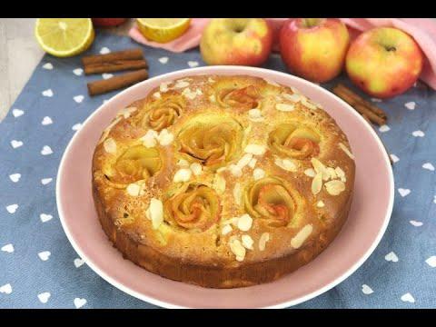 دسر خوشمزه-کیک سیب