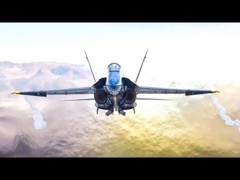 معرفی جنگنده F-18  بخش56