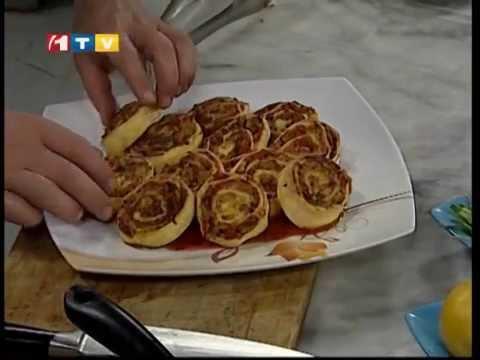 آشپزی آسان - رول سبزیجات-5-