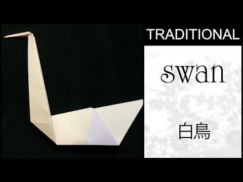 Traditional Origami Swan Tutorial