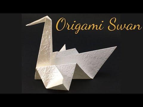 Grace Origami Swan Tutorial (Hyo Ahn)