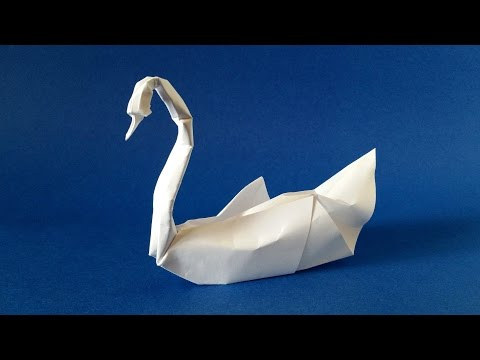 Awesome Origami Swan Tutorial From Craft to Art by Eric Vigier
