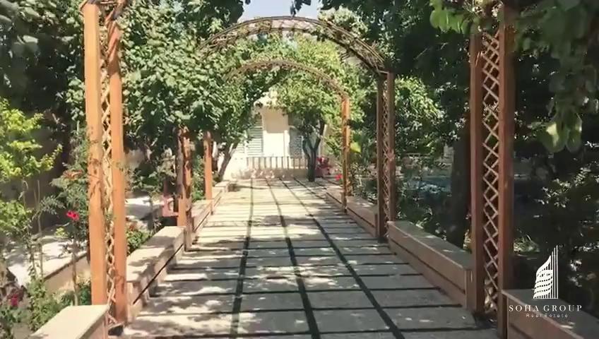 باغچه 1000 متری واقع در منطقه کاملا ویلای نشین کردزار