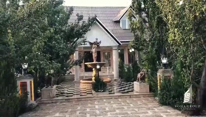 1200 متر باغ ویلا لوکس در کردزار شهریار