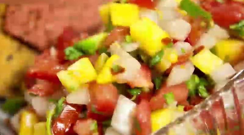 سالاد انبه | فیلم آشپزی