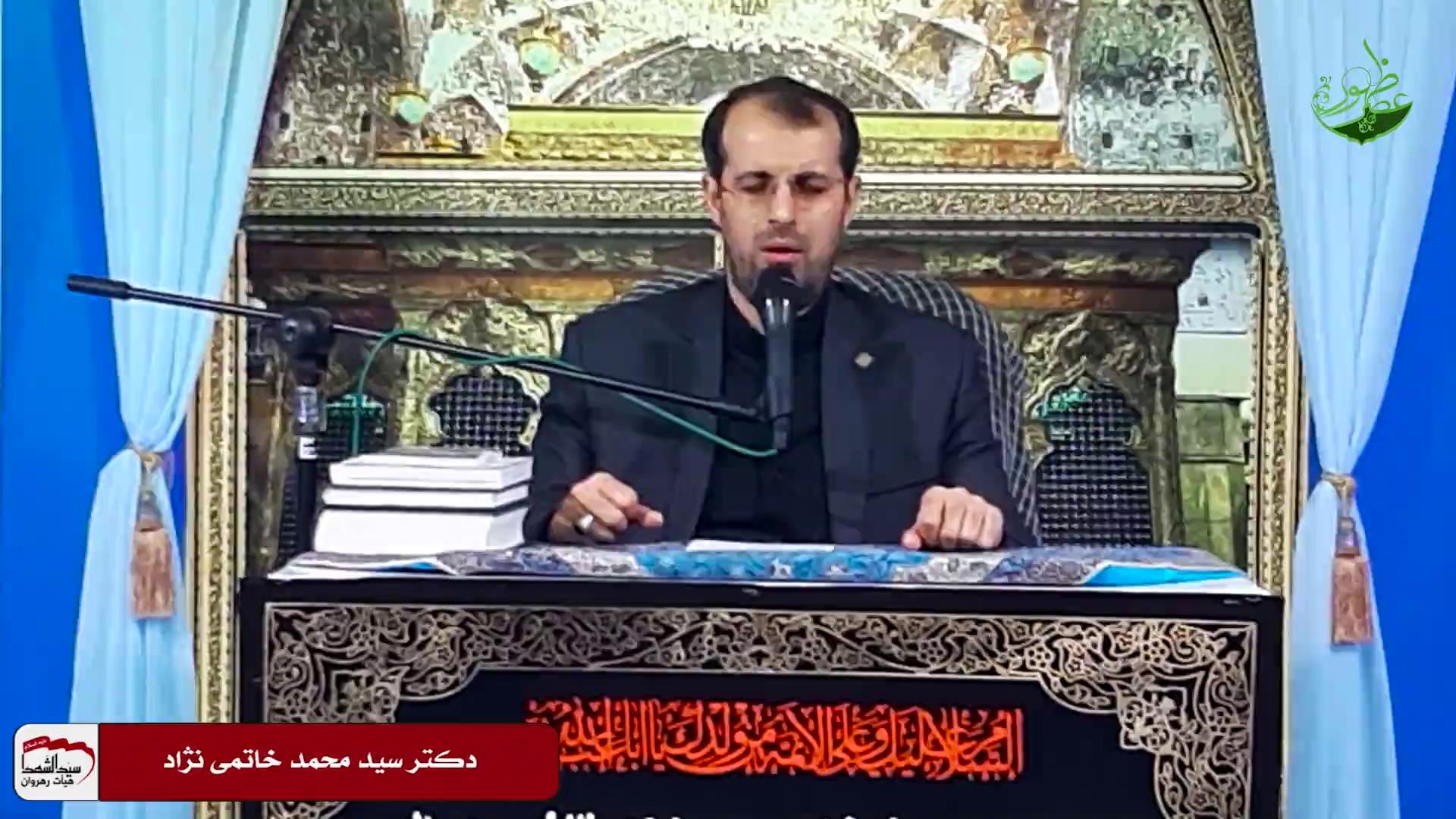 استاد خاتمی نژاد - دشمنی با آل علی علیه السلام، سکه رایج عصر معاویه