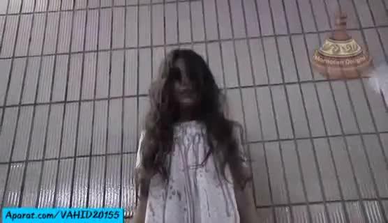 دوربین مخفی خیلی وحشتناک و ترسناک--روح دختربچه