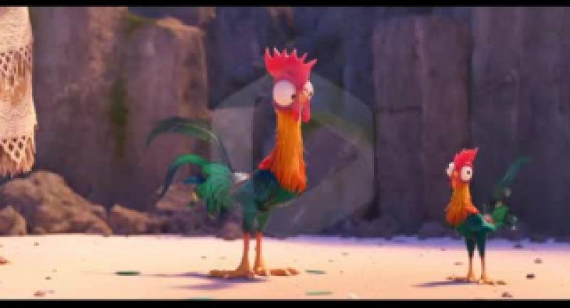 اولین دوبله انیمیشن فوق العاده موآنا