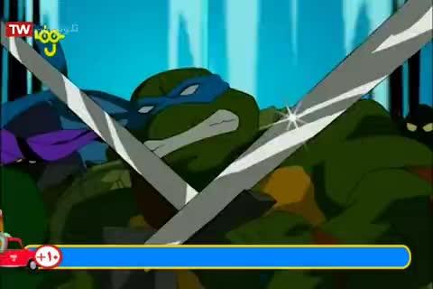 """کارتون لاکپشت های نینجا - دوبله به فارسی - فصل 5 (2008) - قسمت """" برنامه عضویت """""""