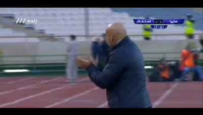 پیروزی دراماتیک استقلال (خلاصه بازی استقلال 2 - 1 سایپا)