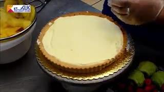 تزیین زیبای  کیک