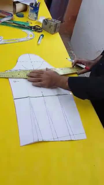 آموزش خیاطی. استین شمشیری برای بازوهای توپل