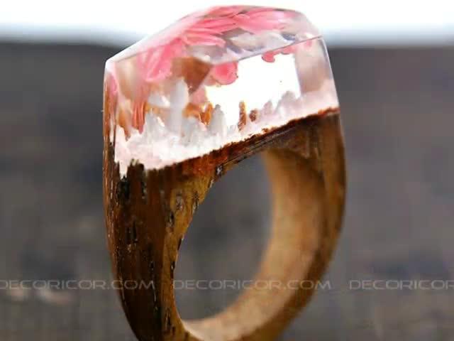 انگشتر های چوبی Decoricor