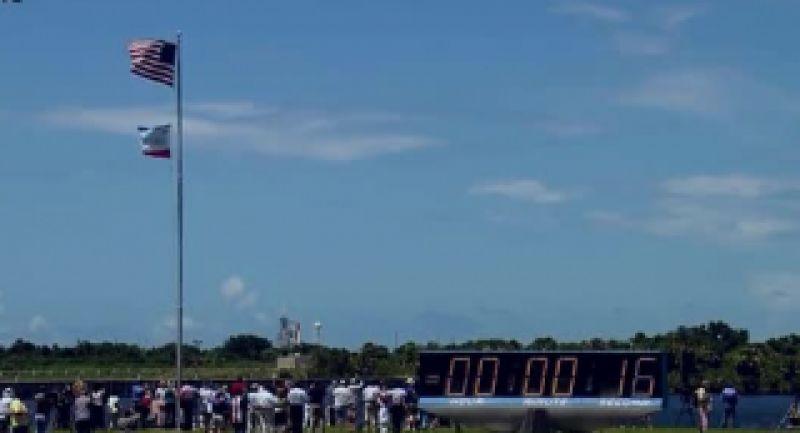 کلیپی دیدنی و زیبا از پرتاب شاتل فضایی