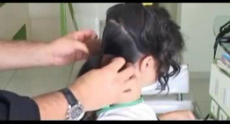 آموزش شینیون مو ساده و راحت