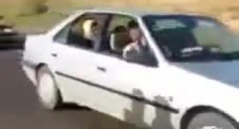 تصادف موتور سیکلت در عروسی