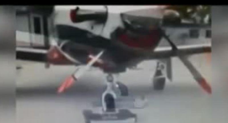 ساخت رباتی برای پارک کردن هواپیما