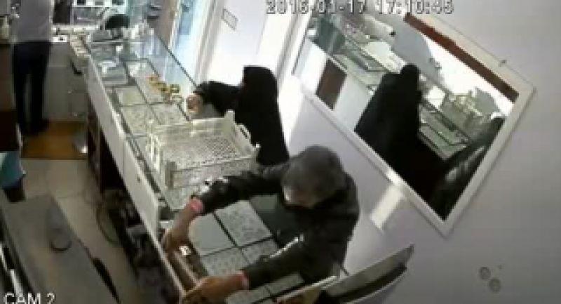 دزدی از طلا فروشی