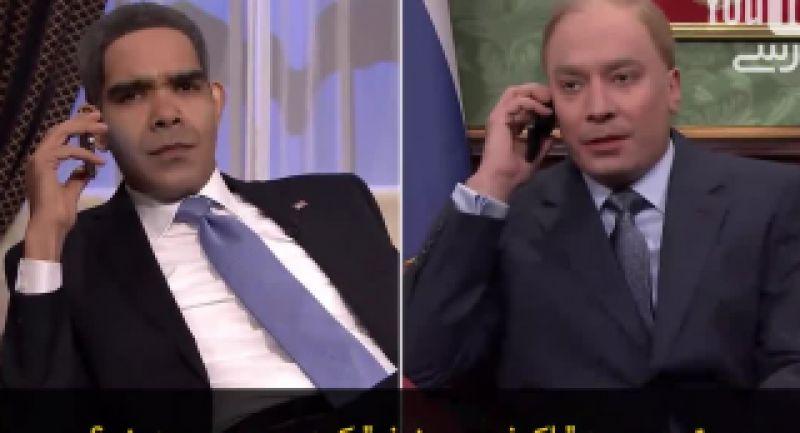 تماس تلفنی اوباما با پوتین