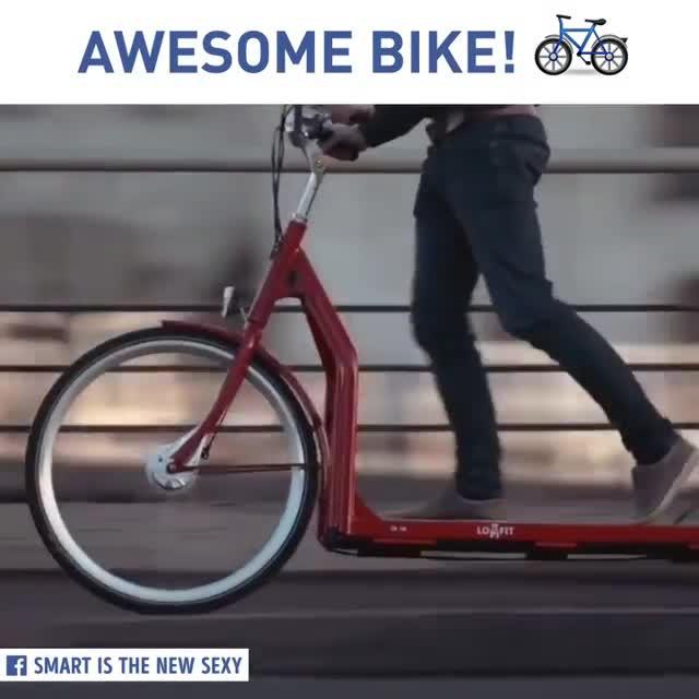 دوچرخه تردمیلی !!