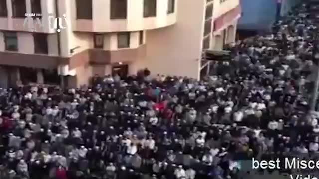 نماز پانصد هزار نفری عید فطر در مسکو