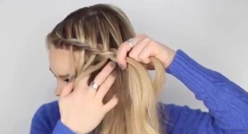 آموزش مدل بافت موی ترکیبی