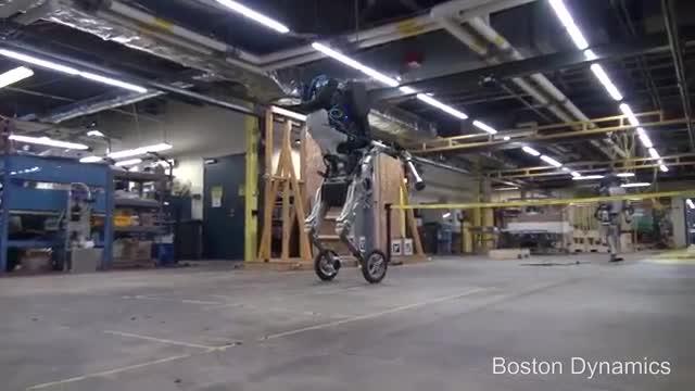 رباتی با حفظ تعادل خارق العاده