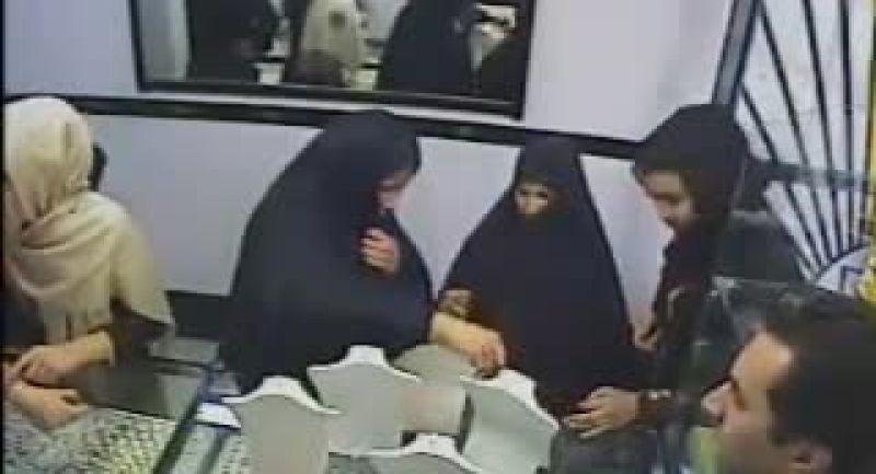 فیلم دزدی از طلا فروشی در دوربین مخفی