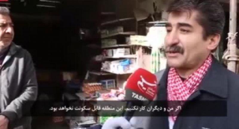غلبه اراده زندگی بر مرگ و ناامیدی در حلب