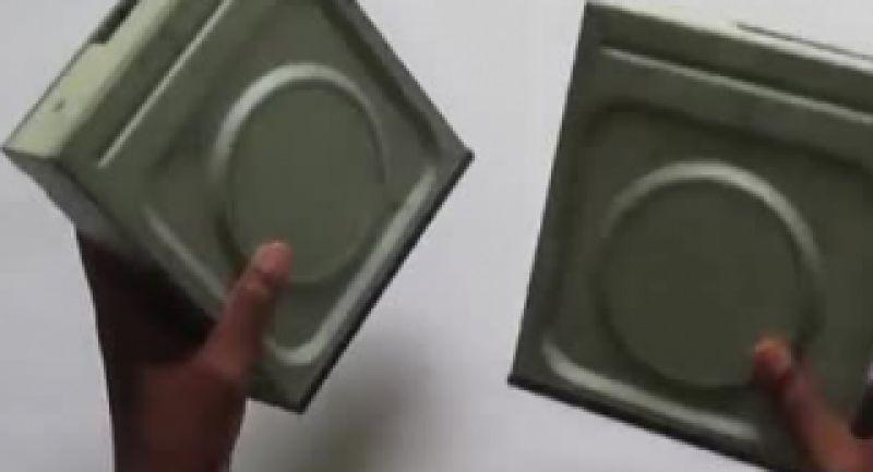 با سی دی درایو کامپیوتر ، CNC بسازیم