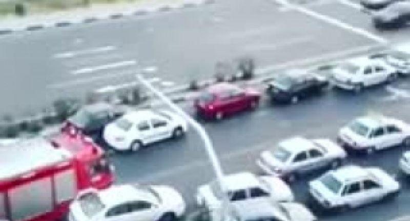 تغییر فرهنگ ترافیک بعد از حادثه پلاسکو (باز کردن راه برای ماشین آتش نشانی)