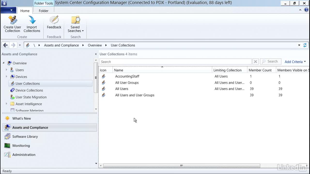 User and device collections #SCCM