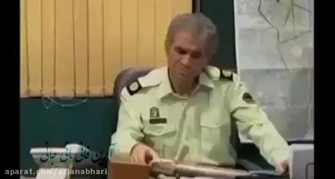 کشته شدن خنده دار سیامک انصاری