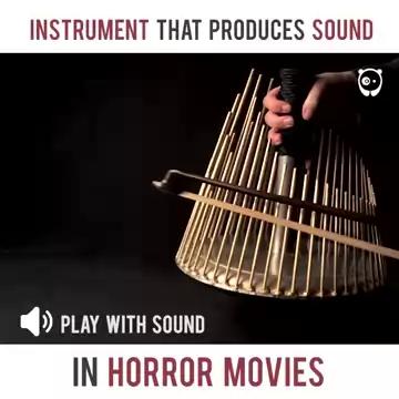 تولید صدای ترسناک با ساز Waterphone