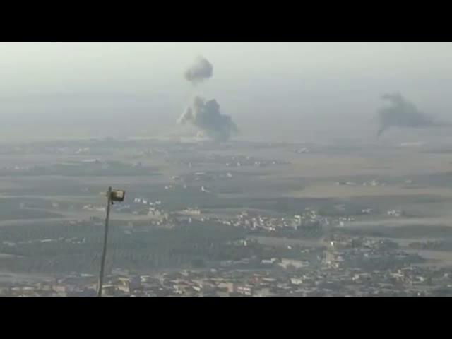 وزیر دفاع آمریکا برای بررسی عملیات موصل وارد عراق شد