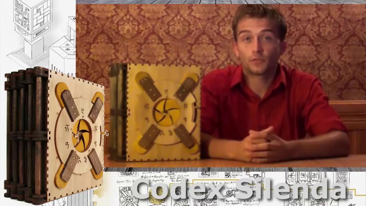 کتاب پازل Codex Silenda خوانندگان خود را به چالش می کشد