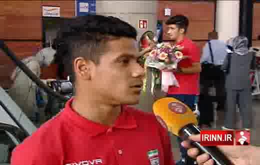 بازگشت تیم فوتبال نوجوانان با مدال نقره
