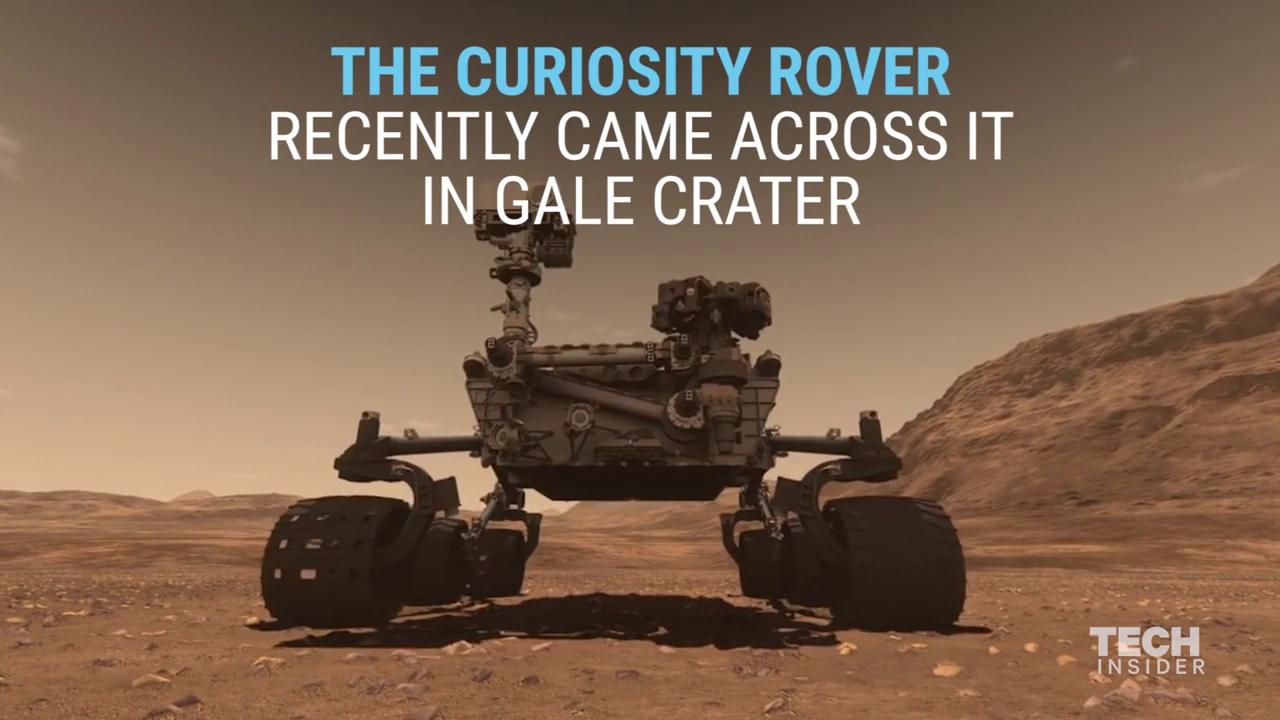 کشف یک شهاب سنگ فلزی در مریخ توسط مریخ نورد کنجکاوی