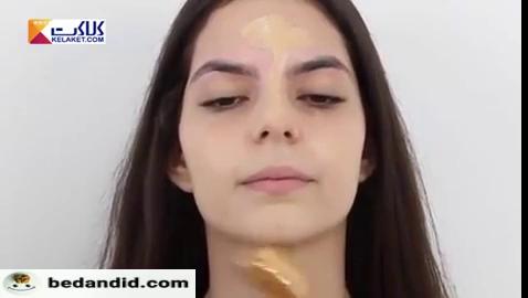 آموزش گام به گام آرایش صورت مناسب برای جشن ها .