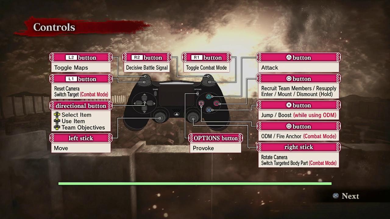 تریلر گیمپلی بازی Attack on Titan
