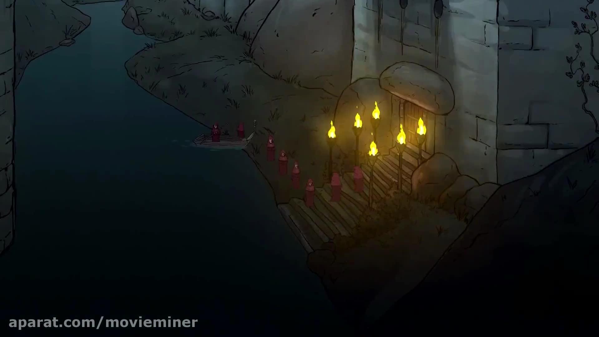 انیمیشن طلسم شدگان - فصل 1 قسمت 4 (دوبله فارسی)