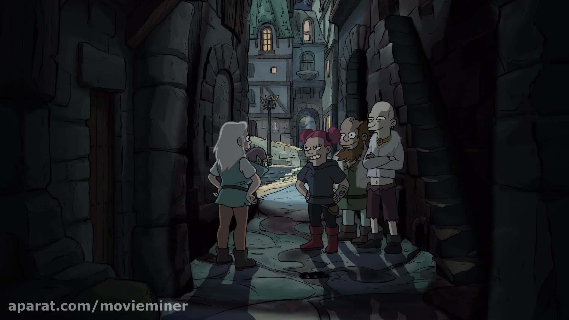 انیمیشن طلسم شدگان - فصل 1 قسمت 3 (دوبله فارسی)
