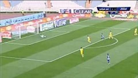 خلاصه بازی استقلال 3-0 فجرسپاسی شیراز